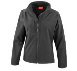R121F0306 - Result•LADIES CLASSIC SOFT SHELL JACKET