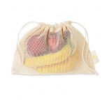 MB9005 - Mesh cotton grocery bag. Min 250 pcs